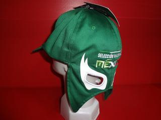 Gorra Capmaleon Con Mascara Mexico Negra O Verde Fpx