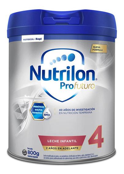 Leche de fórmula en polvo Nutricia Bagó Nutrilon Profutura 4 en lata de 800g