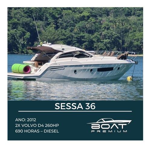 Sessa C36, 2012, 2x Volvo D4 260hp - Phantom - Coral
