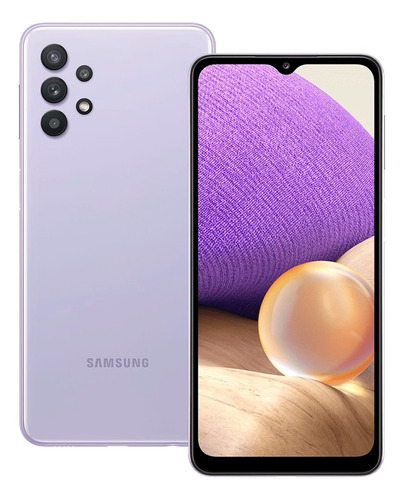 Celular Smartphone Samsung Galaxy A32 A325m 128gb Violeta - Dual Chip