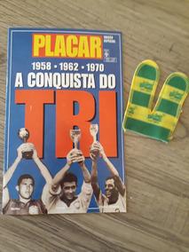 Revista Placar Especial-a Conquista Do Tri. Com Luva Vitória