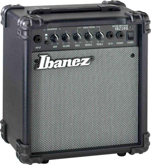 Amplificador Para Guitarra 10w Ibanez. Ibz10g Distorison