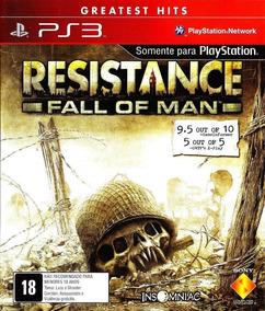 Resistance Fall Of Man Ps3 Mídia Física Original Lacrado