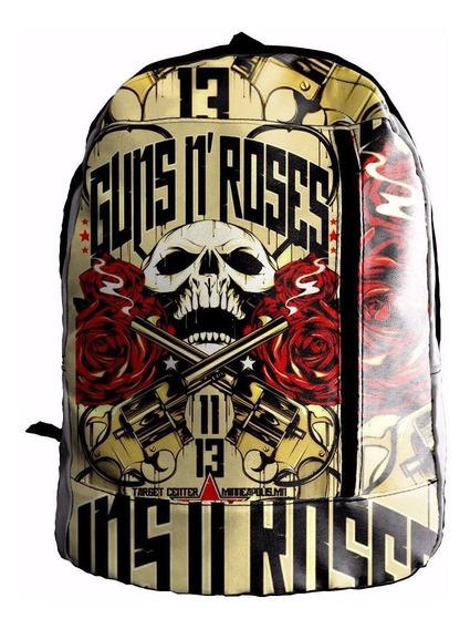 Mochila Sublimada Guns And Roses Mcs004