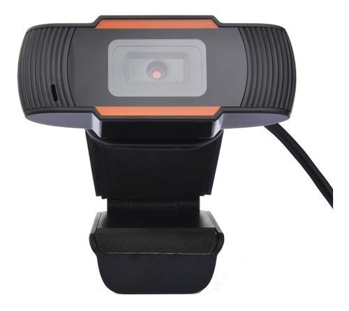 Imagem 1 de 6 de Webcam Hd Usb 12mp 480p Stream Pc Computador Notebook