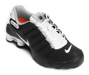 Tenis Nike Shox Nz Se Preto Masculino Original Frete Grátis