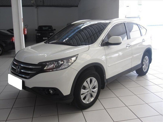 Honda Crv 2.0 Exl 4x4 Branca 16v Gasolina 4p Aut.