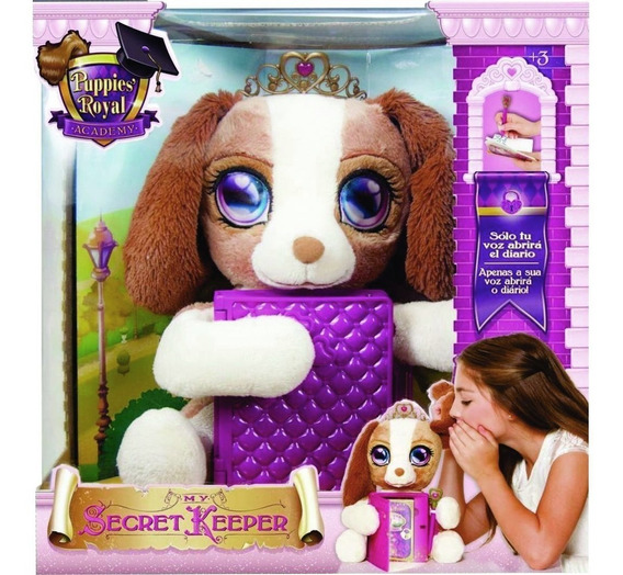My Secret Keeper - Perrito Con Diario Princesas