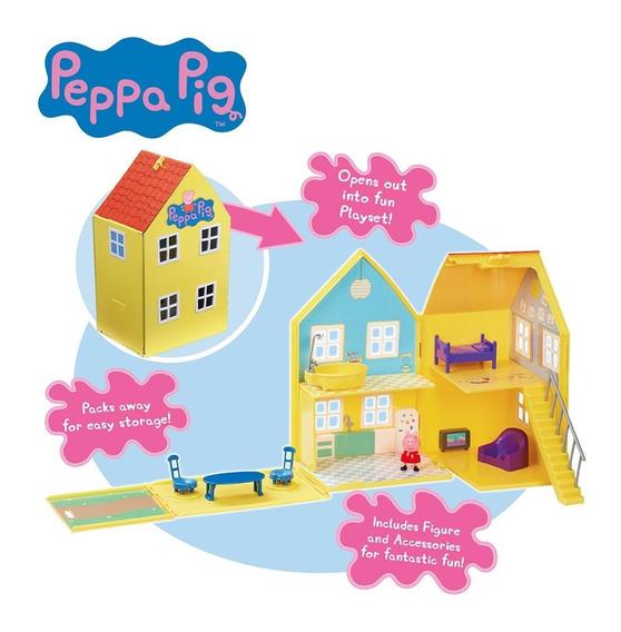 Peppa Pig Casa Lujo Estuche C/fig + Acc Int 06865 La Cerdita