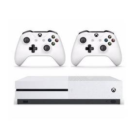 Xbox One S 1tb Com 2 Controles + 3 Meses De Live E Gamepass