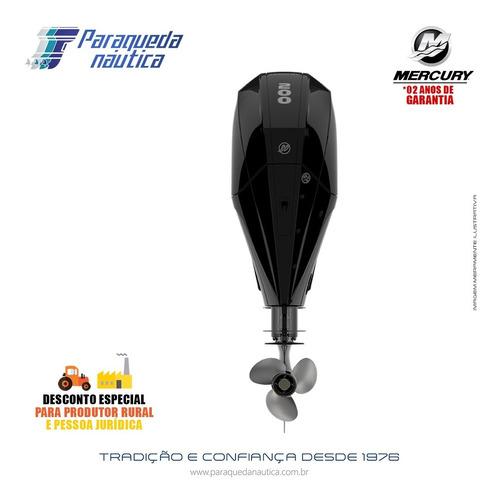 Motor De Popa Mercury 4 Tempos 200hp Cxl Seapro V6 Mec Preto