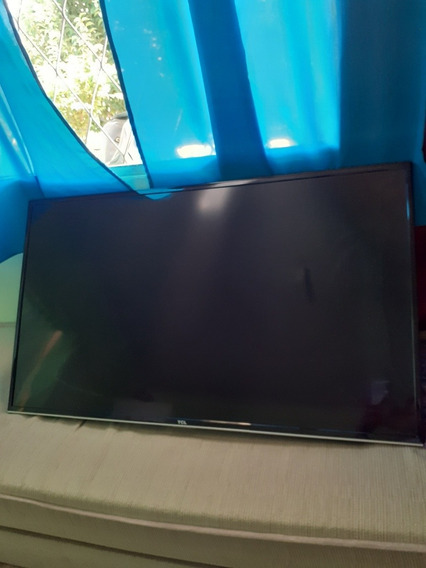 Smart Tv Tcl 49 Polegadas - Tela Quebrada