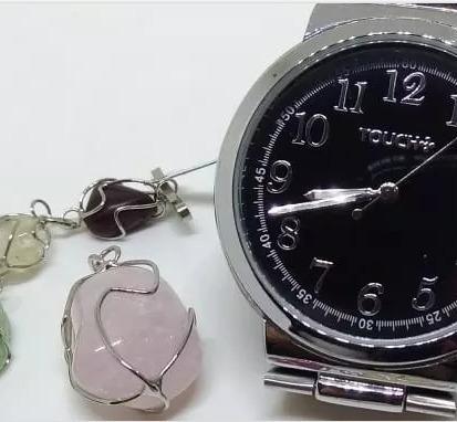 Relógio Touch K190507 Feminino Pulso Webclock Kit Mistic