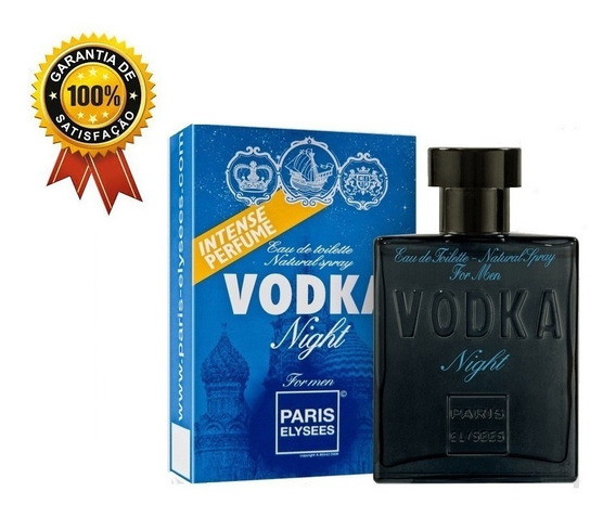 Perfume Masculino Vodka Night Paris Elysees