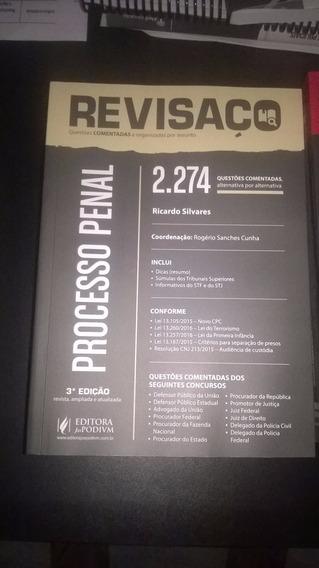 Revisaço Processo Penal 2274 Questões -físico - Frete Grátis