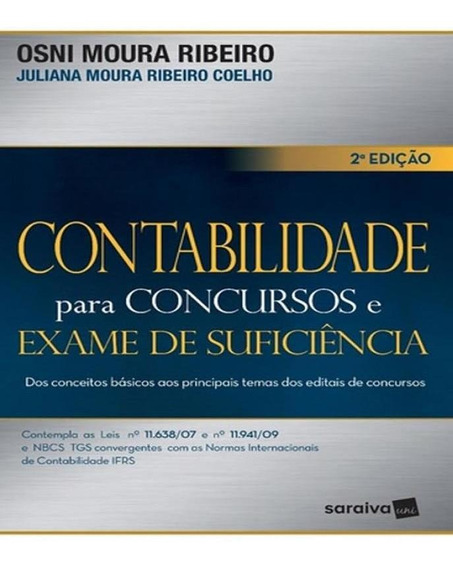 Contabilidade Para Concursos E Exame De Suficiencia - 02 Ed