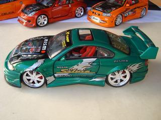 Miniatura Nissan Silvia Nismo - 1/24 - Kentoys - Raro #avl70
