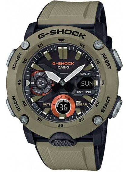 Relogio Casio G-shock Carbon Core Guard Ga-2000-5adr + Nfe