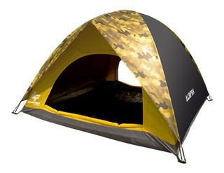 Barraca Camping Poliéster Albatroz 2-3 Pessoas Af-006 Marrom