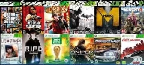 Gta V+11 Jogos Mídia Digital Compartilhada Xbox 360
