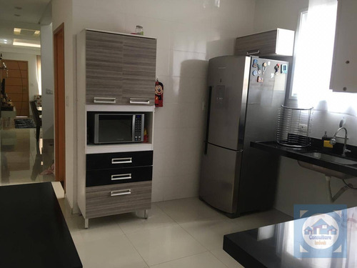Casa Com 4 Dormitórios À Venda, 100 M² Por R$ 423.000,00 - Vila Voturua - São Vicente/sp - Ca0973