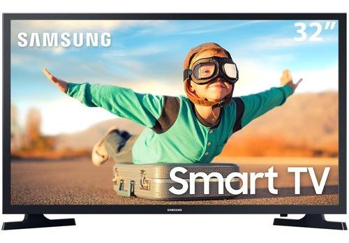 Imagem 1 de 8 de Smart Tv Led 32  Hd Samsung T4300 Com Hdr, Sistema Operacion