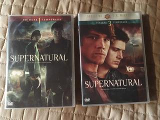 Supernatural Original Dvd 1 Y 3