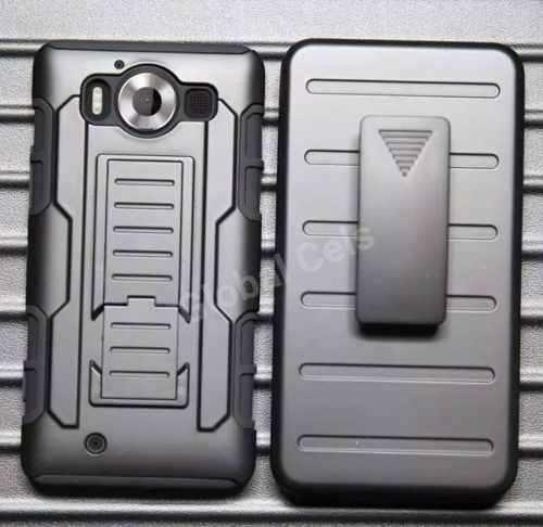 Case Nokia Lumia 950 Holster Gorila Protector Gancho Correa