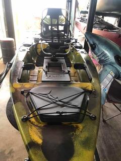 Caiaque Marlim Pesca Caiaker Cabe Pedal E Motor