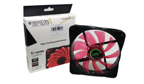 Cooler Gamer Need Cool 120mm Vermelho Led G1 Séries