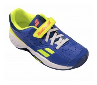 Tênis Infantil Babolat Pulsion All Court - Blue/fluo Aero