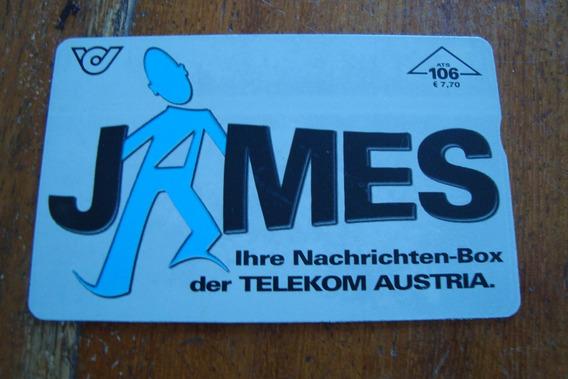 Cartao Austria Telekom / James Ihre Nachrichten Box
