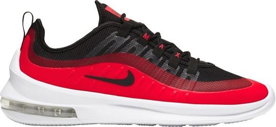 Tenis Deportivo Nike Air Max Axis Negro/rojo 800 Original!