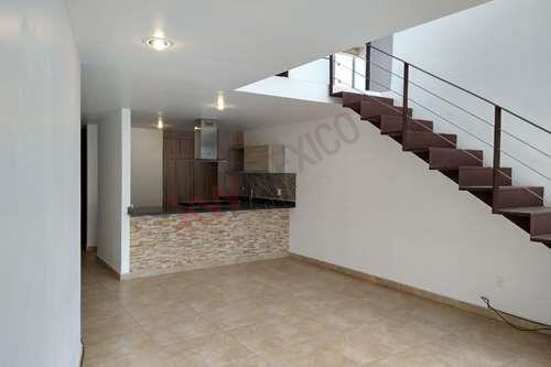 Departamento Tipo Loft En Renta Zibata Queretaro 3 Habitaciones 11000