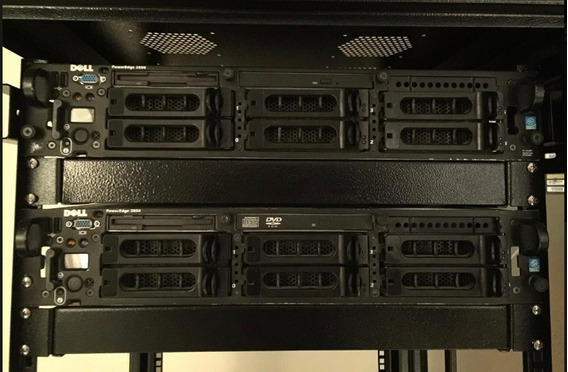 Dell Poweredge 2850 - 2x Dual Core 3.2ghz 16gb Memoria