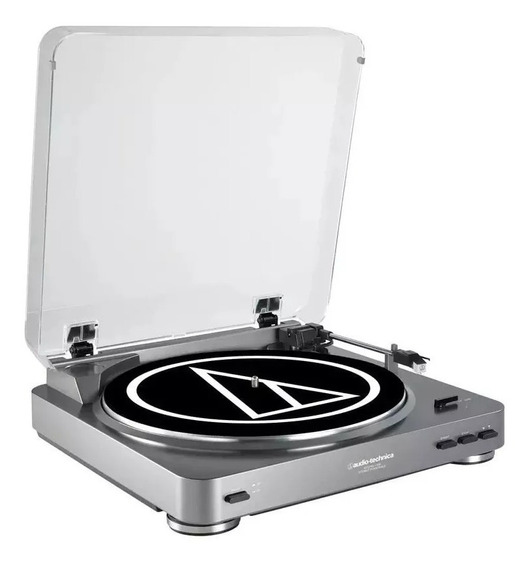 Toca Disco Audio Technica Atlp60usb Turntable/prata/original