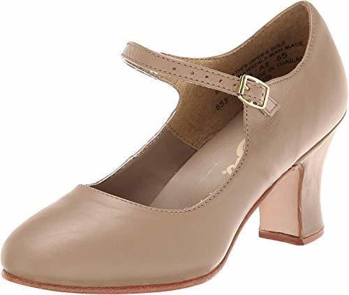 Zapato Para Mujer Capezio Manhattan Character, Caramelo, 5 M