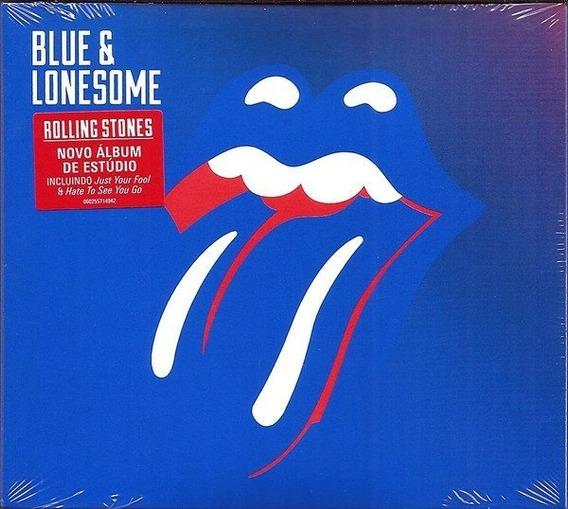 Cd Rolling Stones - Blue & Lonesome - Original Novo Lacrado