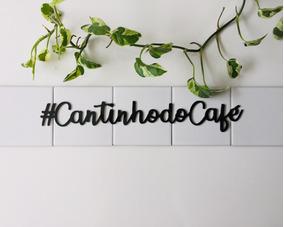 Palavra Decorativa Para Parede Cantinho Do Café