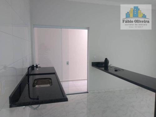 Casa Com 2 Dormitórios À Venda, 66 M² Por R$ 230.000 - Parque São Bento - Sorocaba/sp - Ca0260