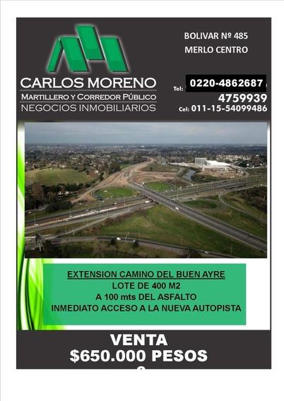 Extensión Camino Del Buen Ayre!!