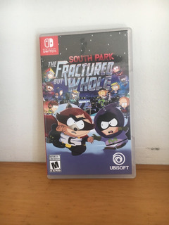 South Park The Fractured But Whole Nintendo Switch Usado