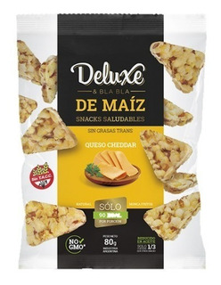 Snacks De Maiz Deluxe 80g X6 Unidades - Sweet Market