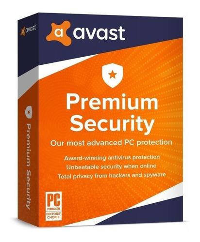 Avast Premium Security Licencia 10 Pcs / 1 Año