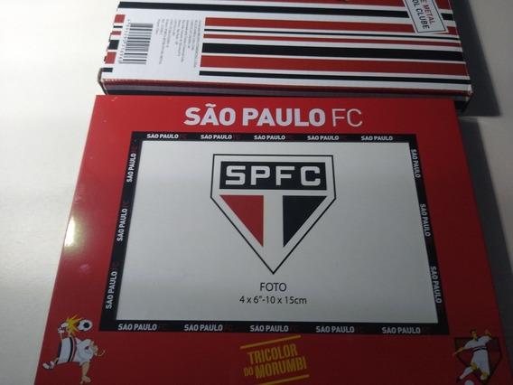 Porta Retrato 1 Foto 10x15cm Metal - São Paulo Fc