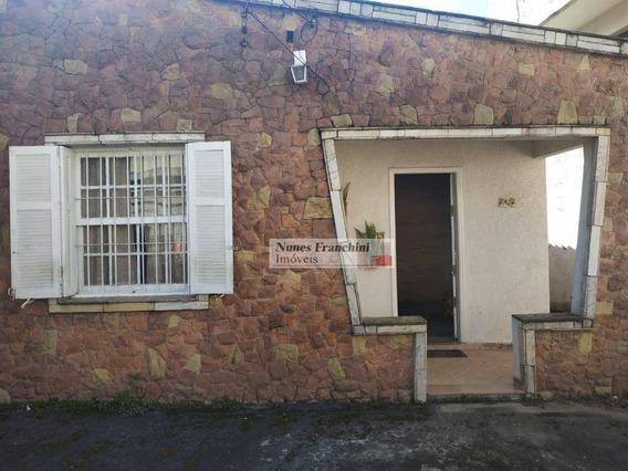 Chora Menino - Zn/sp - Casa Térrea 3 Dormitórios, 2 Vagas - R$ 480.000,00 - Ca0650