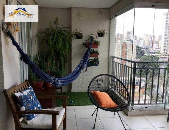 Apartamento Com 3 Dormitórios À Venda, 133 M² Por R$ 1.280.000,00 - Santana - São Paulo/sp - Ap2433