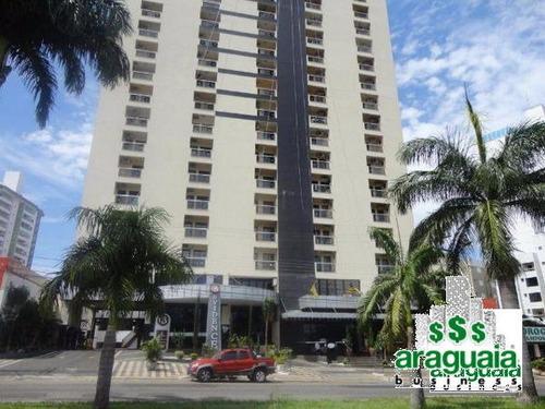 Imagem 1 de 12 de Apartamento Flat Com 1 Quarto No Cristal Place - Araguaia410-l