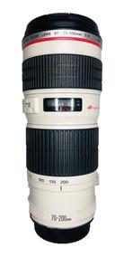 Lente Canon Zoom 70-200mm Ef 1:4 L Ultrasonic Seminova