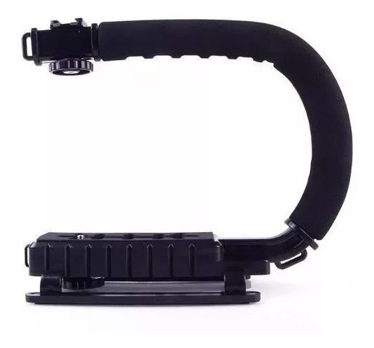 Suporte Estabilizador Gopro Mini-dv Sjcam Sony Canon+brinde